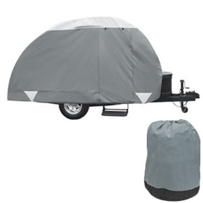 Picture of Classic Accessories PolyPRO (TM) 3 Poly Water Resistant RV Cover For 8-10' Teardrop Trailers 80-297-153101-RT 01-0088