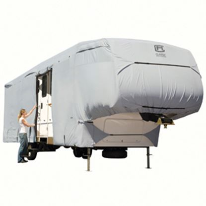 Picture of Classic Accessories PermaPRO (TM) Polyester Water Resistant RV Cover For 20-23' 5th Wheel Trailers 80-121-141001-00 01-0250