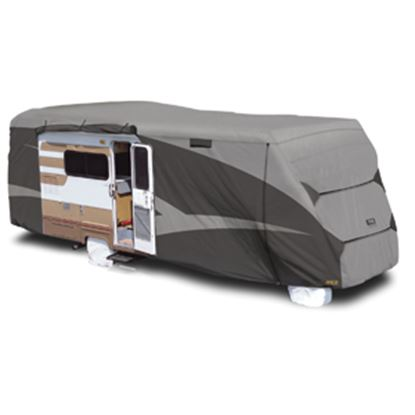 """Picture of ADCO Designer SFS Aquashed (R) Gray Fabric Cover For 29' 1""""-32' Class C Motorhomes 52845 01-0269"""