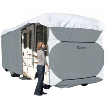 Picture of Classic Accessories PolyPRO (TM) 3 Polyester Water Resistant RV Cover For 33-37' Class A Motorhomes 80-337-193101-RT 01-0835