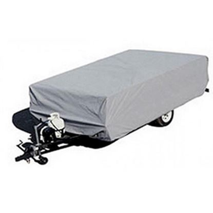 """Picture of ADCO  Gray Poly Cover For Folding/Pop-Up 12'1""""-14' Tent Trailers 2893 01-1095"""