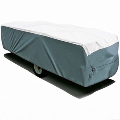 """Picture of ADCO Tyvek (R) Poly Cover For Up To 10' 1""""-12' Folding/ Pop Up Trailers 22892 01-1209"""