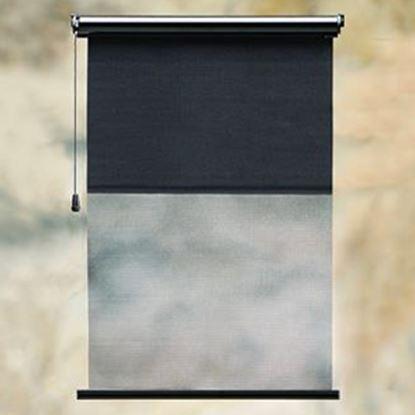 "Picture of Carefree Maxi SideVisor (TM) 36"" Black Case Maxi SideVisor w/ Right Pull Cord 12036ZA36R-RP 01-3120"