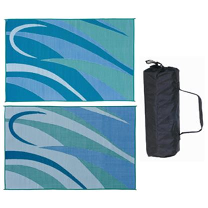 Picture of Ming's Mark  8' x 12' Blue/Green Reversible Camping Mat GA3 01-4992