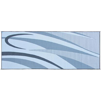 Picture of Ming's Mark  8' x 20' Black/Silver Reversible Camping Mat GC1 01-4997