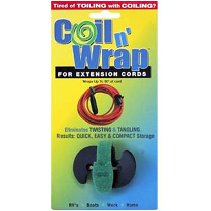 Picture of Coil n' Wrap  16 Gauge Extension Cords Cord Wraps 006-3 03-0510