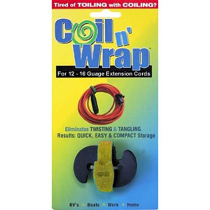 Picture of Coil n' Wrap  Strap For Up To 50'L X 12-14 Ga Extension Cord 006-43 03-0848