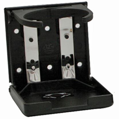 Picture of ITC  Black Wall-Mount Expandable Drink Holder 81405B-D 03-1023