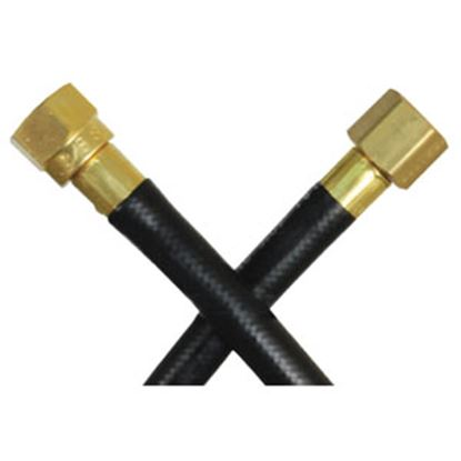 Picture of JR Products  POL (Prest-O-Lite) End x Male Cylinder Thread End LP Adapter Hose 07-31065 06-0192