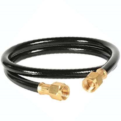 """Picture of Camco  3/8"""" Female Flare x 3/8"""" Female Flare 3'L LP Feed Hose 59913 06-0474"""
