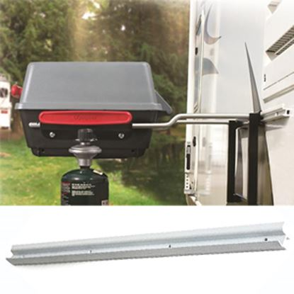 Picture of Camco Olympian Barbeque Grill Rail 57268 06-1155