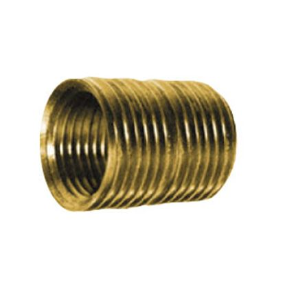 """Picture of Anderson Metal LF 7112 Series 1/4"""" MPT Brass Fresh Water Straight Fitting 706112-04 06-9204"""