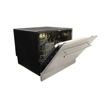 """Picture of Splendide Vesta (TM) 120V 17-1/4""""H 7-Cycle Black Under Counter Built In Dishwasher  07-0495"""
