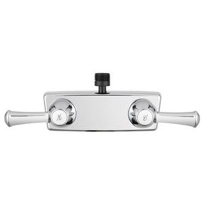 """Picture of Dura Faucet  4"""" Chrome Plated Plastic Shower Valve w/ Lever Handle DF-SA100L-CP 10-1204"""