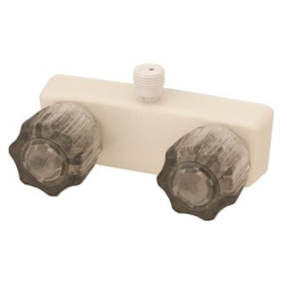 "Picture of Empire Brass  4"" Biscuit Plastic Shower Valve w/Smoke Knobs U-YCJW53VBB 10-2402"