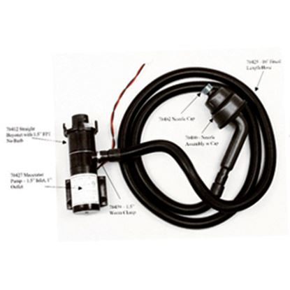 Picture of Thetford Sani-Con Black 10' Sewer Hose 70425 11-0693