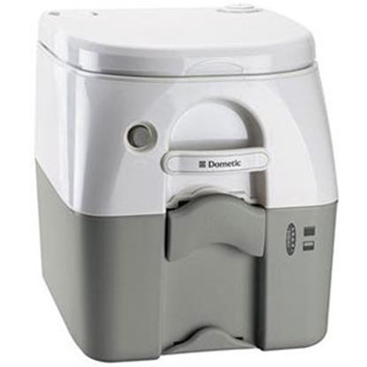 Picture of Dometic 976 Model 5 Gal Tan Portable Toilet 301097602 12-0022