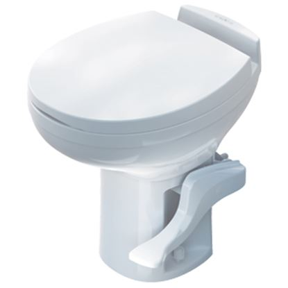 Picture of Thetford Aqua Magic (R) Residence Aqua Magic Residence White High Profile Permanent Toilet 42169 12-0280