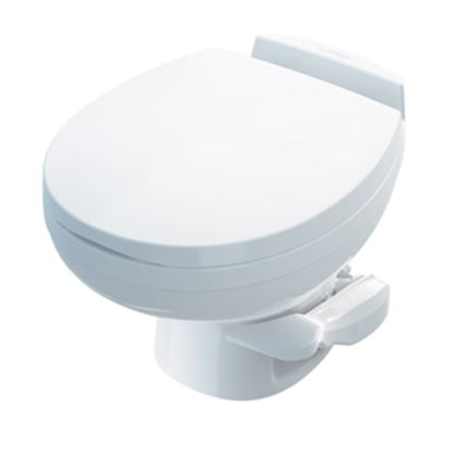 Picture of Thetford Aqua Magic (R) Residence Aqua Magic Residence White Low Profile Permanent Toilet 42170 12-0281