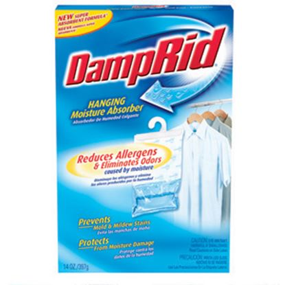 Picture of DampRid  14 Ounce Hanging Moisture Absorber Dehumidifier  13-0508