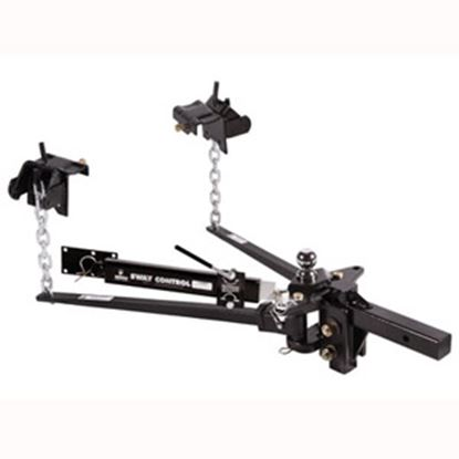 """Picture of Husky Towing  1200 Lb Trunnion Bar Weight Distribution Hitch w/10"""" Shank & Ball 31621 14-1073"""