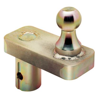 """Picture of Draw-Tite  20K 2-5/16"""" Ball 5"""" Offset Gooseneck Trailer Hitch Ball 19308 14-7117"""