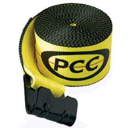 """Picture of Pacific Cargo  4"""" x 30' Winch Strap w/ Flat Hook 4530-FH 16-0663"""