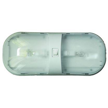 Picture of Command Omega White Double Dome Light 001-902XPB 18-0235