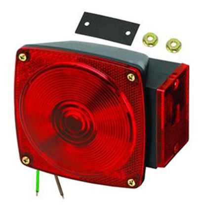 """Picture of Bargman  Red 5-1/4""""x4.66""""x3.76"""" Tail Light 2523073 18-0280"""