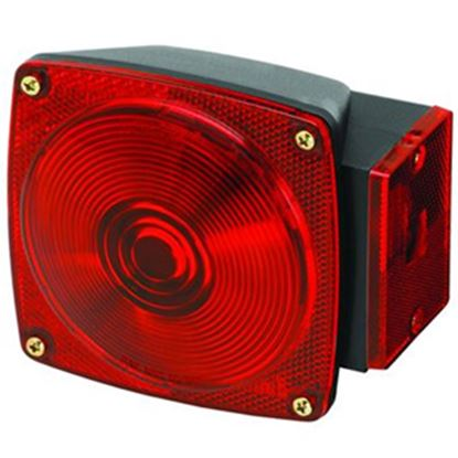 """Picture of Bargman 80 Series Red 4-3/4""""x4-1/2""""x2-9/16"""" Tail Light 2823284 18-0287"""