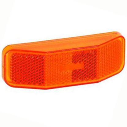 Picture of Bargman  Amber Side Marker Light Lens For Bargman 99 Series 34-99-012 18-0422