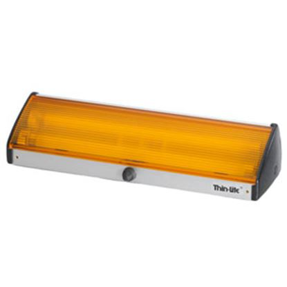 Picture of Thin-Lite  Clear Lens Rectangular LED Porch Light w/Switch DIST-LED162CP 18-0813