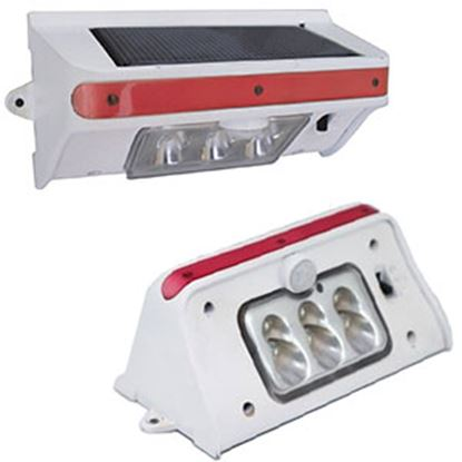 """Picture of Tri-Lynx  Single 4.87""""Lx2-1/2""""Wx2-1/4""""H White LED Light w/ Switch 00028 18-0857"""
