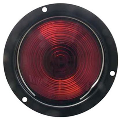 "Picture of Optronics ST42 SERIES 4.5"" Round Stop/Turn/Tail Light w/ Ground Wire & Reflector ST42RBP 18-1763"