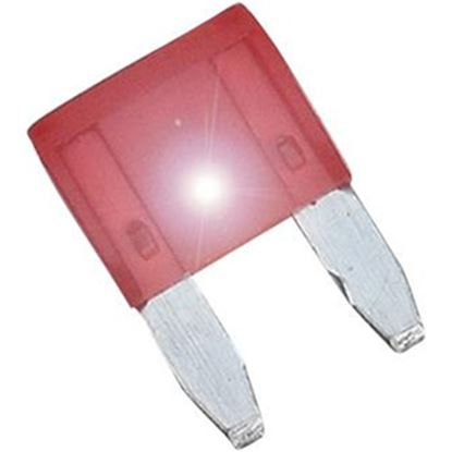Picture of Diamond Group  2-Pack Time Delay 10A ASP Mini Red Blade Fuse DGIF111VP 19-0001