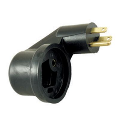 Picture of JR Products  15M/30F Flip-Flop Power Cord Adapter M-3022-A 19-0372