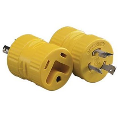 Picture of Marinco  20M/30F Power Cord Adapter 127A 19-0500