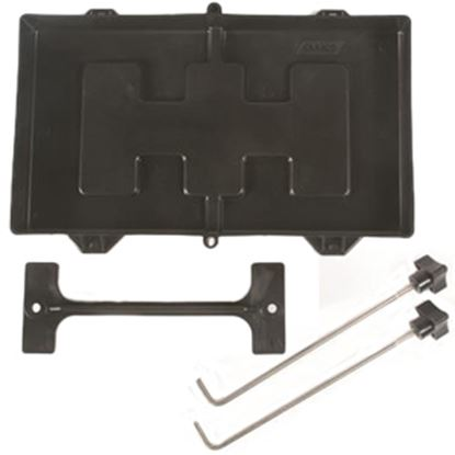 Picture of Camco  Plastic Battery Tray for Group 27/30/31 Batteries 55404 19-0616