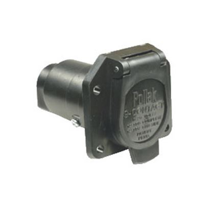 Picture of Pollak  9-Way Round Car End Trailer Connector 12-907 19-0937