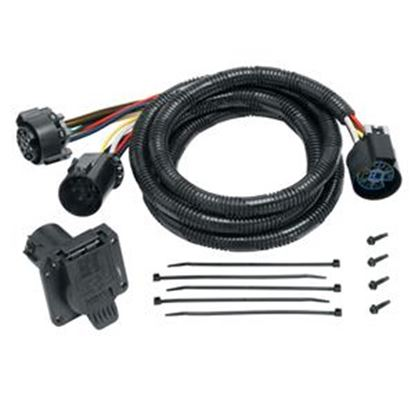Picture of Tow-Ready  7-Blade Trailer Wiring Connector Adapter w/7' Cable 20110 19-1268