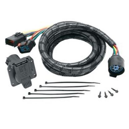 Picture of Tow-Ready  7-Blade Trailer Wiring Connector Adapter w/7' Cable 20111 19-1269