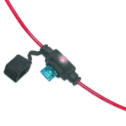 Picture of Battery Doctor  ATM/Mini Blade Fuse Holder w/Fuse 24410 19-3527