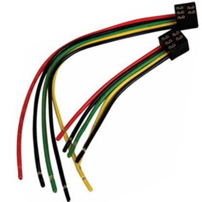 """Picture of Diamond Group  5-Pin Square 6"""" Slide Out Wiring Harness DG126VP 19-5020"""