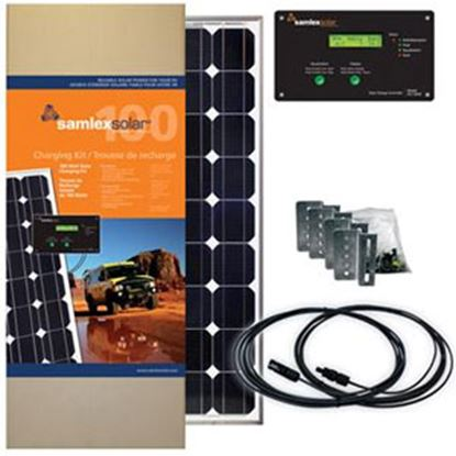 Picture of Samlex Solar  100W 22.93V Solar Kit SRV-100-30A 19-6421