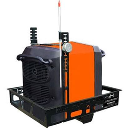 """Picture of Torklift Lock and Load 24""""x27-3/4"""" Steel Cargo Carrier for 2"""" Hitch A7752 19-8517"""