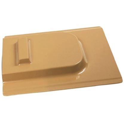 """Picture of Camco  12""""H X 11-1/2""""W Beige Molded Plastic Screen Door Slide 45511 20-0102"""