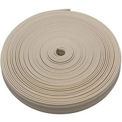 """Picture of AP Products  Colonial White Plastic 7/8""""W X 25'L Trim Molding Insert 011-352 20-1373"""