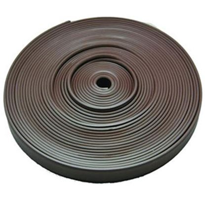 """Picture of AP Products  Brown Plastic 5/8""""W X 25'L Trim Molding Insert 011-366 20-1395"""