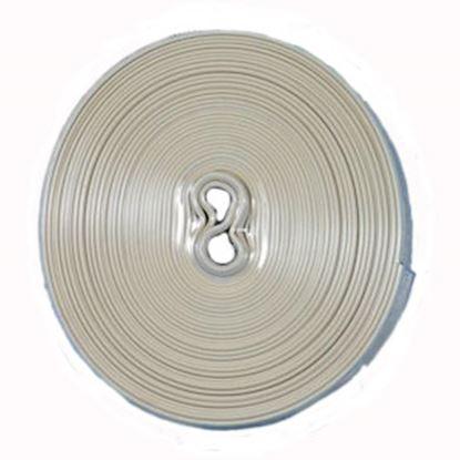 "Picture of Camco  Beige Vinyl 1"" W X 25' L Trim Molding Insert 25093 20-1418"