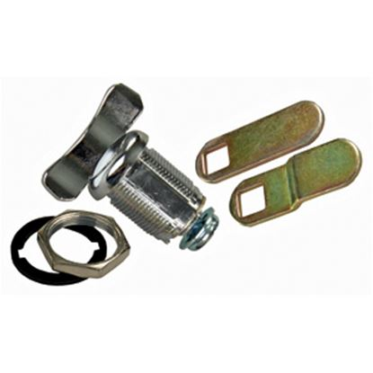 """Picture of JR Products  1-3/8"""" Baggage Door Thumb Lock 00145 20-1551"""